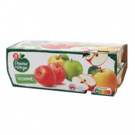 Compote pomme x 16 - Douceur du Verger - 1,6 kg
