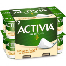 ACTIVIA FERME SUCRE 12X110G