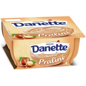 DANETTE SAVEUR PRALINE 4X100G