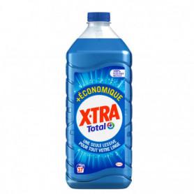 XTRA - Lessive Liquide - Total EcoPack 1.85L - 37 lavages