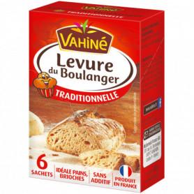 Levure du Boulanger x6 Vahiné 48g