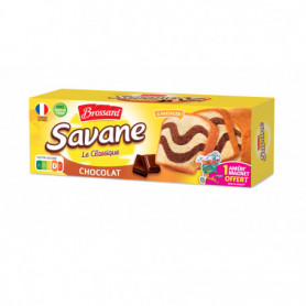 GATEAU MARBRE CHOCOLAT SAVANE - BROSSARD 300GRS