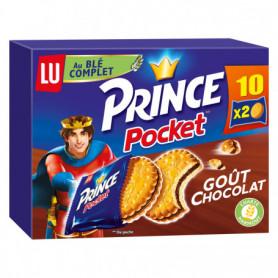 Biscuits Goût Chocolat Prince Pocket LU 400Grs
