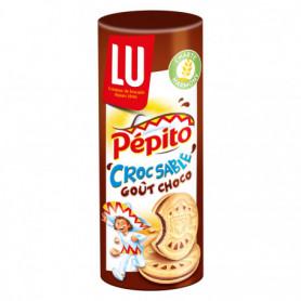 Biscuit Croc'Sablé Goût Chocolat Pépito 294Grs