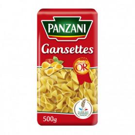 PATES GANSETTES PANZANI 500G