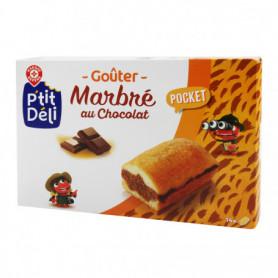 Gâteaux mini marbrés P'tit Déli Chocolat x14 - 378g