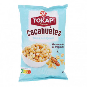 CACAHUETES NON SALEES 200G