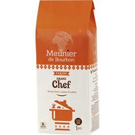 FARINE GRAND CHEF LE MEUNIER DE BOURBON 1KG