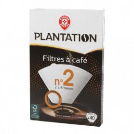 Filtre à café n°2 Plantation x40