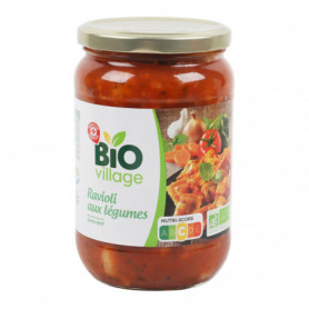 Ravioli aux légumes bio - Bio Village - 700 g