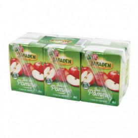 Jus de pomme Jafaden A base de concentré - 6x20cl
