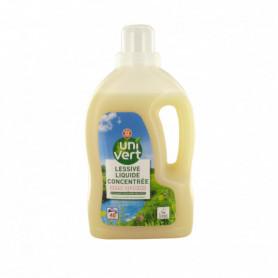 Lessive liquide Uni Vert Ecolabel x40 - 1.6L