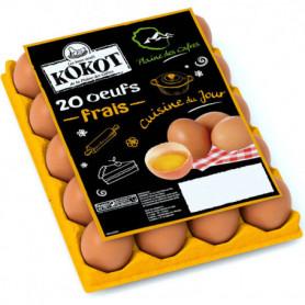 OEUFS X20 - KOKOT