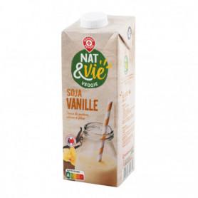 Boisson au soja Nat  Vie Vanille - 1L