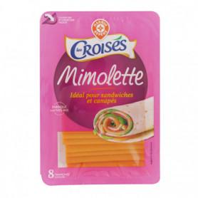 FROMAGE  Mimolette tranchettes - Les Croisés - 200 g