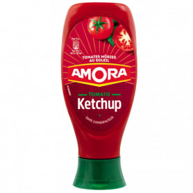 Ketchup Nature Flacon Souple Amora  550g
