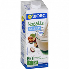 BJORG Boisson noisette calcium 1 L