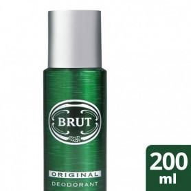 Brut Déodorant Homme Spray Antibactérien Efficacité Longue Durée 200ml