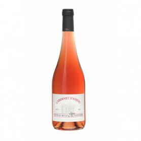 Vin rosé Cabernet d'anjou Château de la Mulonnière 75cl