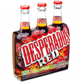 Bières Desperados Red bière 3x33cl