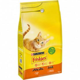 Croquettes pour chat au Poulet/Légumes FRISKIES PURINA 4 KG