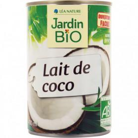JARDIN BIO / LAIT DE COCO BIO* / 400ML / BOITE METAL