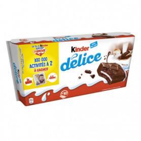 Biscuits Kinder délice Cacao x10 - 390g