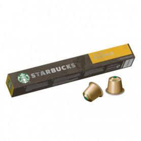 Capsules Café Nespresso Blonde Espresso RoastX10 STARBUCKS 53Grs