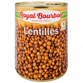 Lentilles naturelles 4/4 Royal Bourbon 530GRS