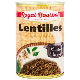 Lentilles cuisinées à la créole Royal Bourbon 400GRS