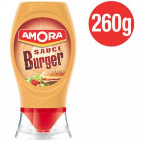 Sauce Burger Flacon Souple Amora 260g