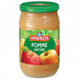 COMPOTE POMMES ANDROS 750G