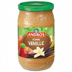 DESSERT POMMES VANILLE ANDROS 750GRS