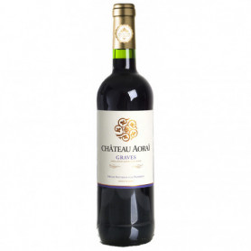 AOP GRAVES ROUGE CHATEAU AORAI 75 CL