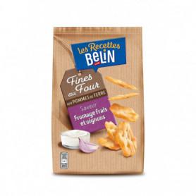Pétales fines saveur fromage frais et Oignons Belin 100g