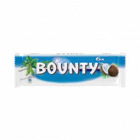 Barres Chocolatées au lait fourré de noix de coco x 6 Bounty 171grs