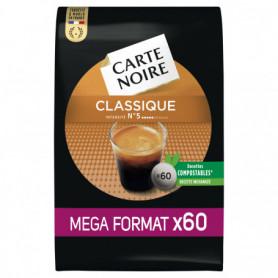 Dosettes souples classiques X60 Carte Noire 420g