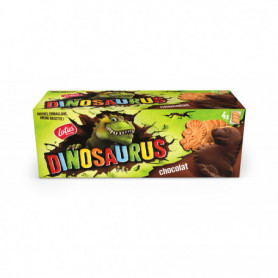 Biscuits Chocolat Noir Dinosaurus  lotus 225Grs
