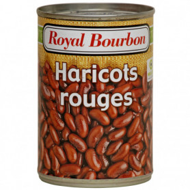 HARICOT ROUGE AU NATUREL ROYAL BOURBON 400 G
