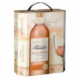 Vin rosé Roche Mazet Grenache Cinsault IGP - 3L