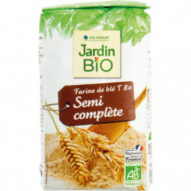 Farine semi complète - Jardin Bio 1kg
