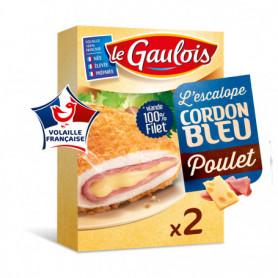ESCALOPES POULET CORDON BLEU - LE GAULOIS- 200G