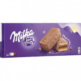 Gâteau Moelleux Choco Trio X6 Milka  180grs