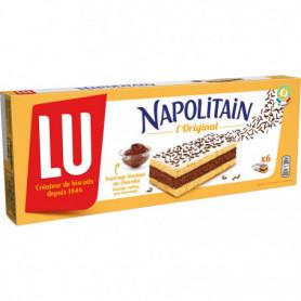 Gâteau Fourré Chocolat Napolitain Classic LU 6X180grs