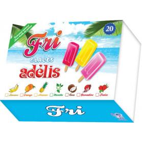Glaces Fri Adelis multi parfums x20