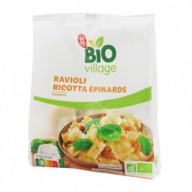 Ravioli ricotta épinards - Bio Village - 250 g