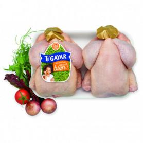 poulet frais X2 ti gayar 2,6kg
