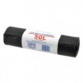 SACS POUBELLES 50L PPX X15