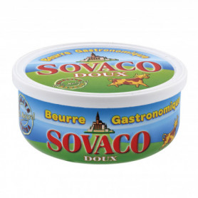 BEURRE SOVACO DOUX  250G