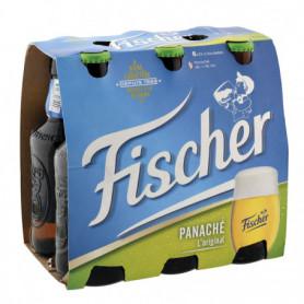Panaché Bouteilles FISCHER 6X33CL